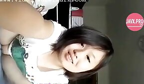 Chinese girl stripping on webcam