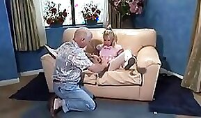 Beautiful Silanie Blondes Anal Deepthroat and Piss Sack