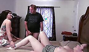 Big-tittied stepmom had her desperate spurts taken